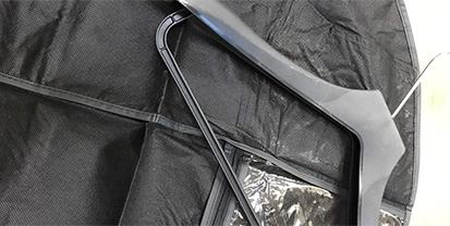 アパレル使用の専用カバー、専用ハンガー