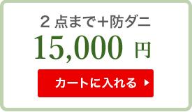 2点まで+防ダニ 14000円